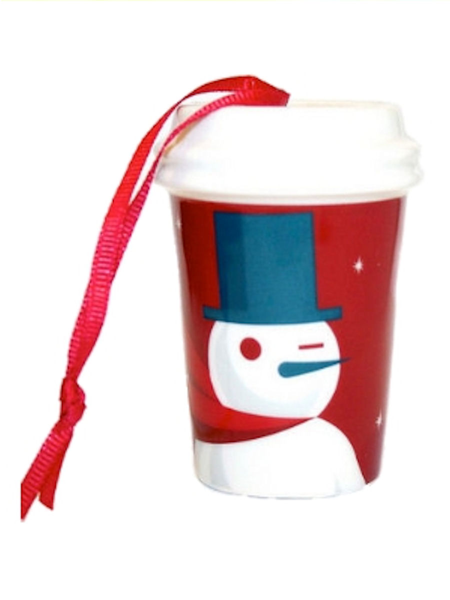 Starbucks 2012 Holiday Ornament Red Cup