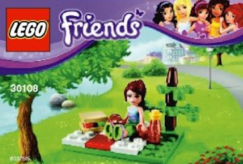LEGO Friends 30108 Summer Picnic Bag Set