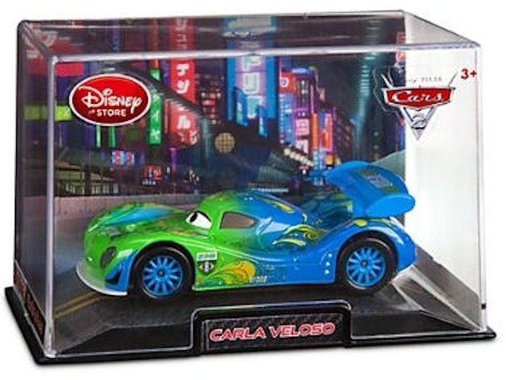 Disney Pixar Cars 1:48 Die Cast Car In Plastic Case Carla Veloso