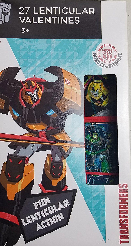 Transformers 27 Lenticular Valentines