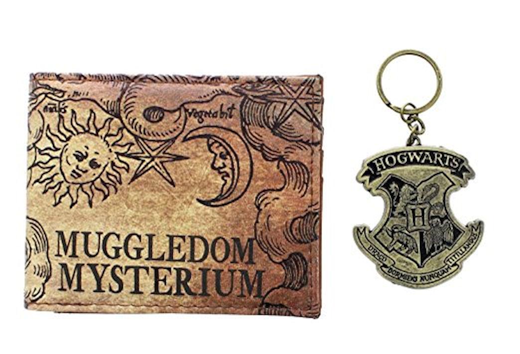 Harry Potter Wallet/ Keychain Set